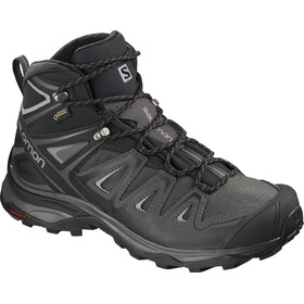 Salomon X Ultra 3 Mid GTX Schoenen Dames, zwart/grijs